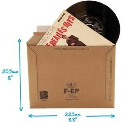New = Lil  Fep 7  Record Mailers. So Strong These Do Not Require Stiffener Pads • 9.72£