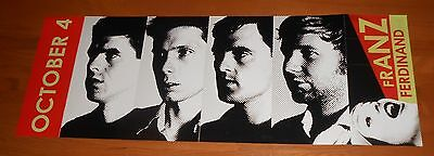 Franz Ferdinand You Could Have It Poster 2-Sided Flats 2005 Promo 33x12 • 28.49£