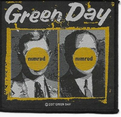 GREEN DAY Nimrod Sew On Patch - 100mm X 100mm  FREE UK P&P  • 2.99£