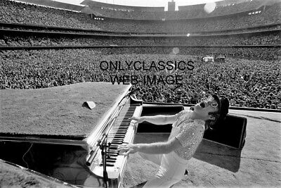 Elton John At Grand Piano Rocking Out His Hits 12x18 Photo Poster Rock & Roll • 11.12£