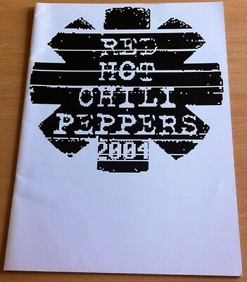 Red Hot Chili Peppers 2004 Tour Programme • 16.95£