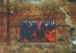 URE THRALL Arabian Knightmares CARD Tesco Organisation A6 Promo Postcard For CD • 2.09£