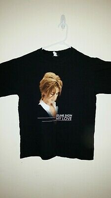 Celine Dion My Love Tour Shirt D59 • 17.57£
