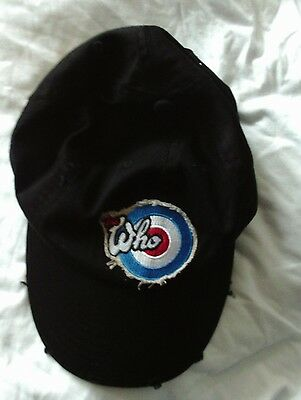 The Who Hits 50 New Cotton Baseball Cap 2014 Official Tour Merchandise Free Post • 9.98£