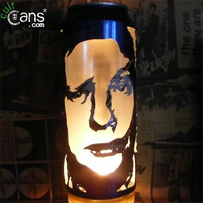 Shaun Ryder Beer Can Lantern! Happy Mondays, Black Grape Pop Art Lamp • 13.99£