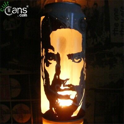 Trent Reznor Beer Can Lantern! Nine Inch Nails, NIN Pop Art Lamp Unique Gift! • 13.99£