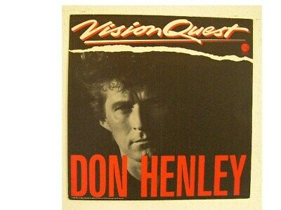 Don Henley The Eagles Poster Flat Vision Quest • 15.62£