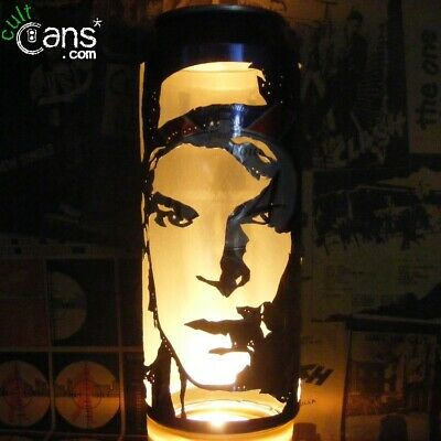 Gaz Coombes Beer Can Lantern! Supergrass Pop Art Portrait Lamp • 13.99£
