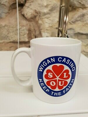 Wigan Casino Patch Northern Soul All-nighter Cup / Mug  • 9.99£