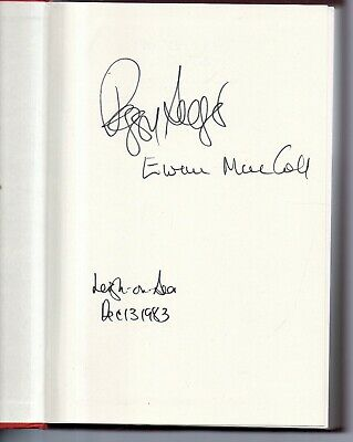 SIGNED 1st Travellers Songs From England & Scotland Ewan MacColl & Peggy Seeger • 75£