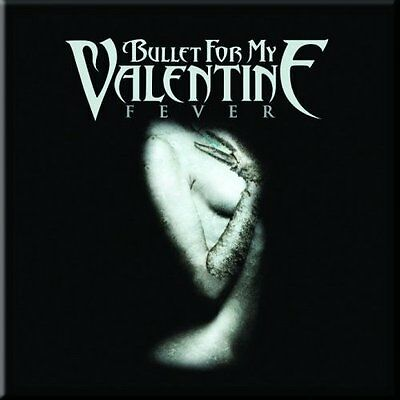 BULLET FOR MY VALENTINE Fever Fridge Magnet 3  Square Metal Gift Free UK P&P • 1.99£
