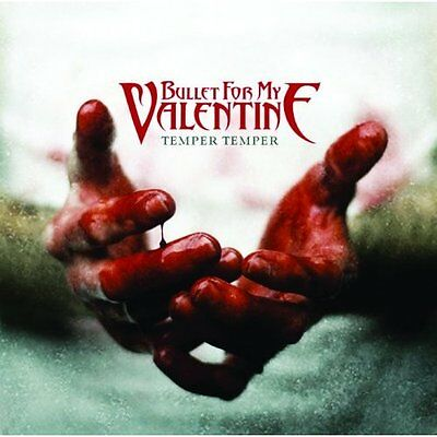 BULLET FOR MY VALENTINE Temper Fridge Magnet 3  Square Metal Gift Free UK P&P • 1.99£