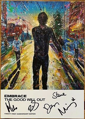 Embrace The Good Will Out Live Hand Signed Autographed Tour Programme New • 16£