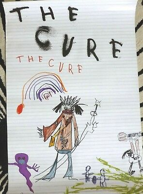 The Cure - The Cure    VINTAGE PROMOTIONAL MUSIC POSTER  • 19.99£