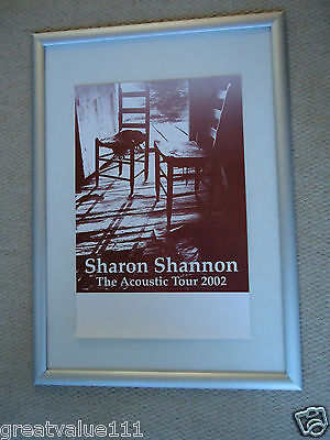 Sharon Shannon The Waterboys Concert Gig Poster 2002 Unreleased Printers Poster  • 10£