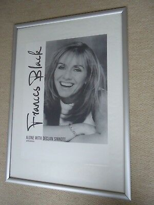 Frances Black Concert Poster1992 Unreleased Poster Alone With Declan Sinnott Gig • 8.95£