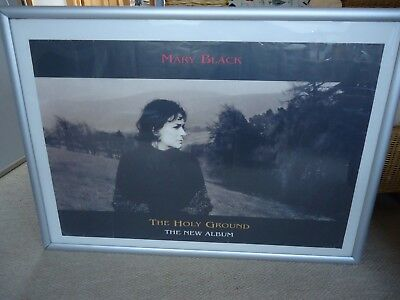 Mary Black Poster The Holy Ground Album Poster 1993 Original Vintage Collectible • 9£