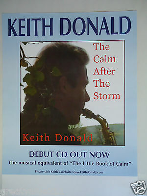 Moving Hearts Keith Donald  Concert Gig Poster 1999 Unreleased Printers Poster  • 7.50£