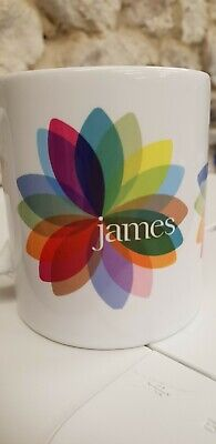 James The Band Cup / Mug Tim Booth Sit Down Modern Logo Madchester Bands • 9.99£