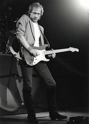 Mark Knopfler Dire Straits Photo 1982 Unique Unreleased Image Huge 12inch Rarity • 6.95£