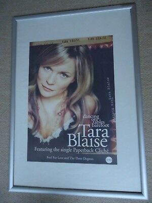 Tara Blaise Poster 2005 Unreleased Poster Dancing On The Tables Barefoot Promo • 9£