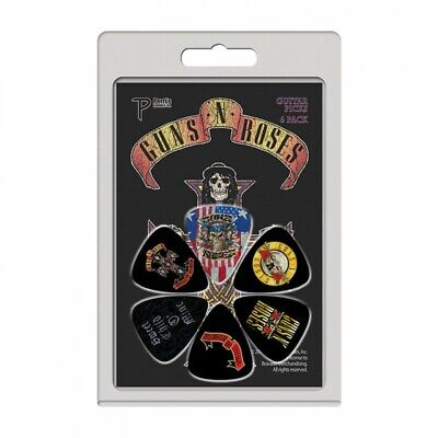 Perri's Guns N Roses Guitar Picks (6 Pack) LP-GR2 Slash Appetite For Destruction • 5.99£