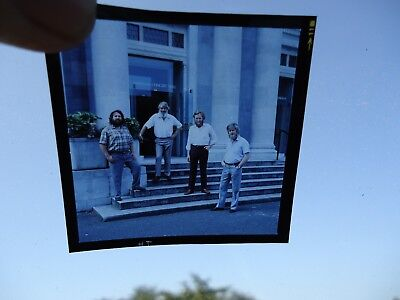The Dubliners Photo Transparency  1983 For Album 21 Years On Printers Own Unique • 17.50£