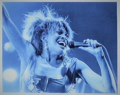 Tina Turner Photo 1985 Unique Image Unreleased Huge 12 Inches Exclusive Tinted • 6.95£