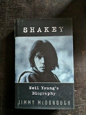 Unread NEIL YOUNG SHAKEY HARDCOVER BOOK • 30£