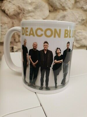 Deacon Blue Cup Mug Ricky Ross Lorraine McIntosh Real Gone Kid Dignity Raintown • 9.99£