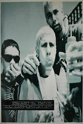 Beastie Boys Ill Communication Blowing Bubbles Black And White Poster 24 X 35 • 59.55£