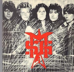 MICHAEL SCHENKER GROUP / STARFIGHTERS On The Rack Tour 1981 TOUR PROGRAMME UK • 10.50£