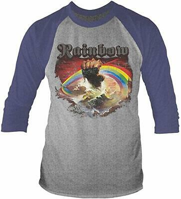Rainbow - Rising Distressed - Long Sleeve -t-shirt New • 10.95£