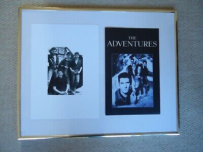 The Adventures Band Flyer Programme 1988 +  Rare Photo Image 2 Collectible Gems • 13£