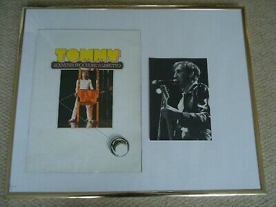 Tommy Programme 1979 The Who + Rare  Pete Townshend Photo  Image 1982 Two Gems  • 20£