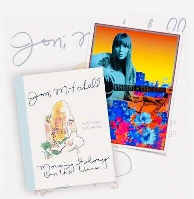 Joni Mitchell - Morning Glory On The Vine. New Book With Limited A4 Print • 36.99£