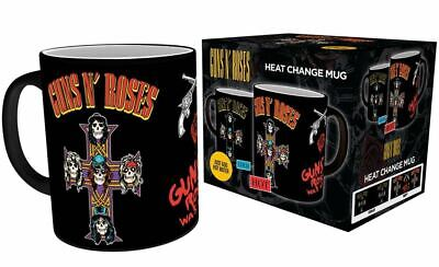 Official Guns N Roses Heat Changing Magic Coffee Mug Cup New In Gift Box • 12.95£