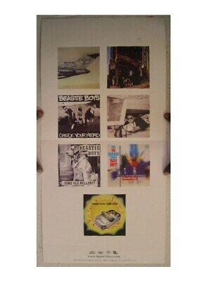 Beastie Boys Anthology Poster Sounds Of Science Two Sided The • 29.24£