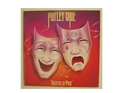 Motley Crue Poster Theater Of Pain Flat • 29.24£