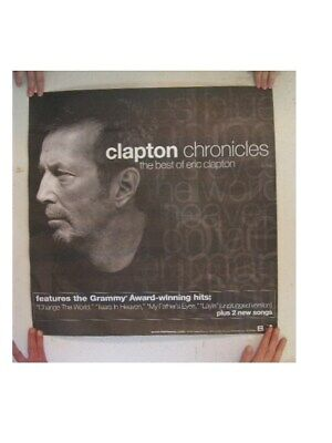 Eric Clapton Poster Chronicles The Best Of • 21.49£