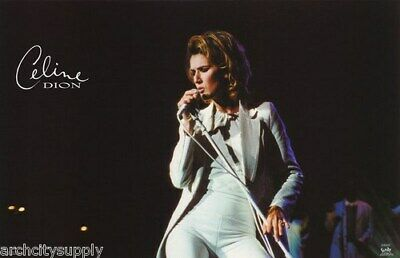 Celine Dion Poster In White • 18.16£