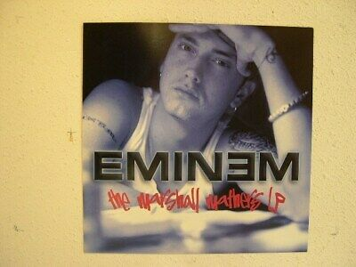 Eminem Poster The Marshall Mathers LP Flat • 14.21£