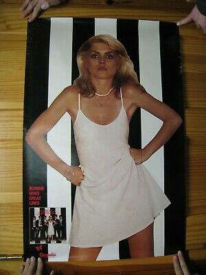 Blondie Poster White Dress Black And White • 241.98£