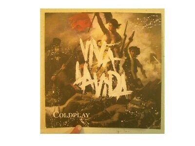 Coldplay Poster Viva La Vida One Sided Cold Play • 29.79£