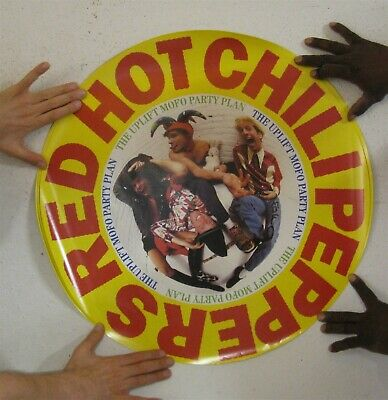 The Red Hot Chili Peppers Poster Vintage The Uplift Mofo Party Plan Circular • 238.43£
