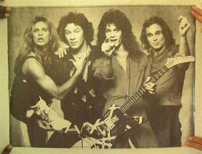 Van Halen Poster David Lee Roth Eddie Michael Anthony Women And Children First • 163.39£