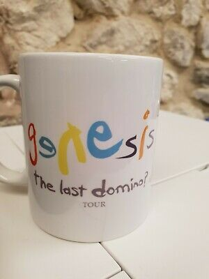 Genesis Cup Mug The Last Domino? Tour 2020 Phil Collins Mike Rutherford  • 9.99£