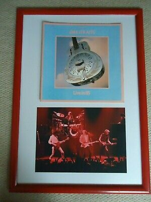 Dire Straits Tour Programme 1985 + Photo Of Entire Band 1982 + Poster 85 Of Band • 20£