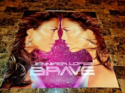 Jennifer Lopez Full Color Poster Brave Promo American Idol Actress Free Shipping • 11.84£