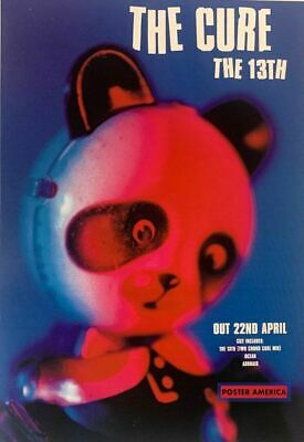 The Cure The 13th Album Promo Reproduction Poster 18 X 27 • 39.36£